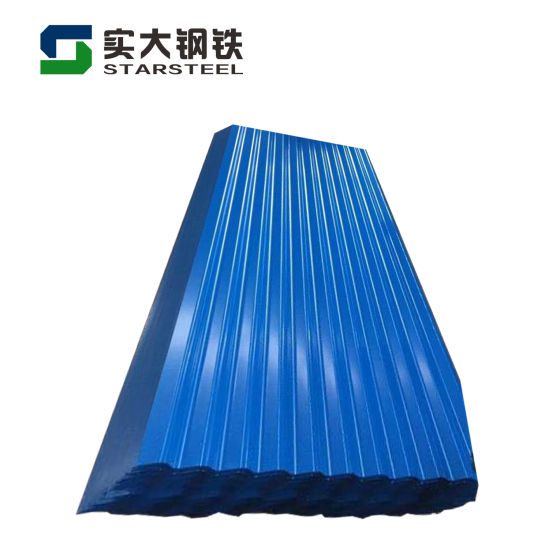 Factory 0.12*665mm G350 Galvanized Corrugated Gi Roofing Steel Sheet