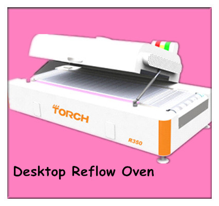 Desk Type Mini Lead Free High Precision Reflow Oven R350 for PCB Assembly pictures & photos