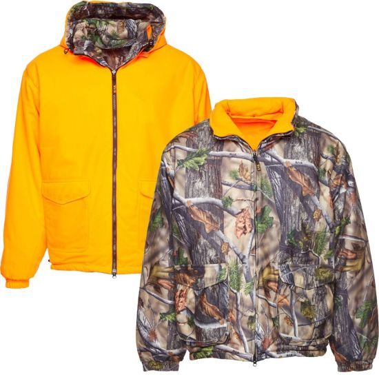 Real Tree Multi-Functional Reversible Camouflage Hunting Jacket