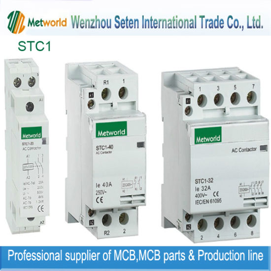 Stc1 Series Modular Contactor / Household Contactor