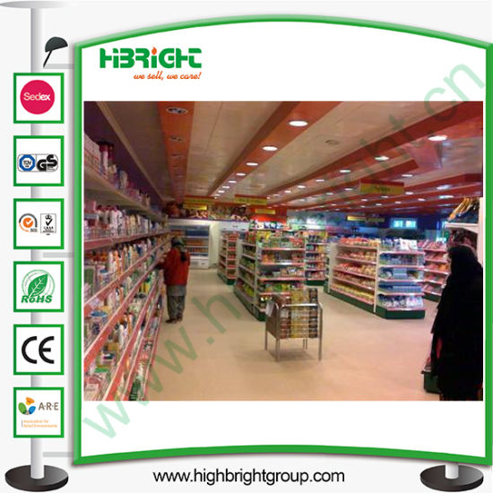 New Store Gondola Shelving System Design pictures & photos