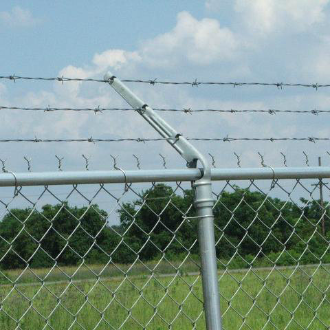 Galvanized Chain Link Fence From Factory pictures & photos