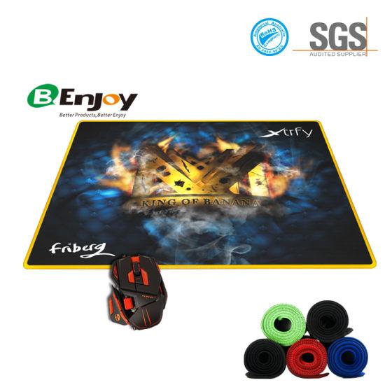 china custom large rubber computer gaming mouse mat keyboard pad