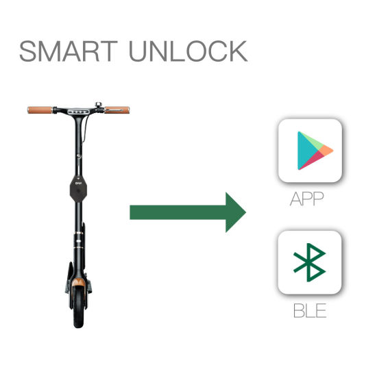 China Sharing Scooter Iot Device / Qr Code Scooter/APP and GPS