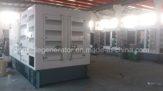 Silent Diesel Generator Powered by Perkins Engine 125kVA (YMP-100) pictures & photos