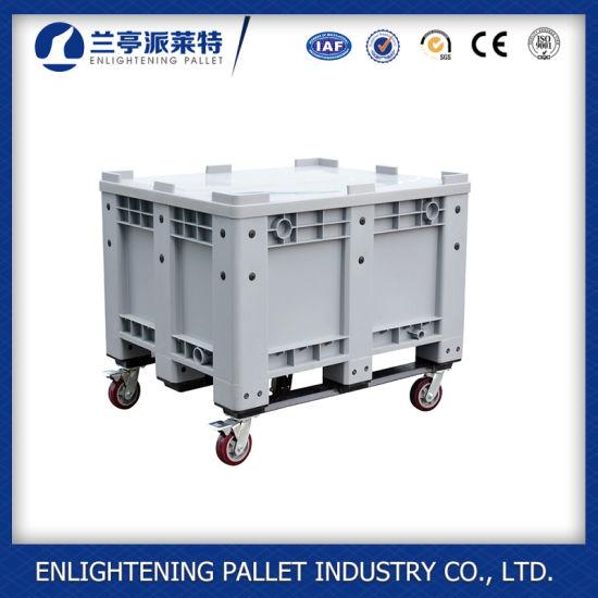 Heavy-Duty Plastic Bulk Containers Pallet Box for Sale