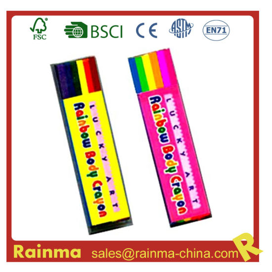 Rainbow Body Painting Crayon for Decoration Gift pictures & photos
