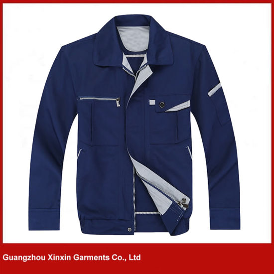 2017 New Long Sleeve High Quality Working Jacket for Winter (W294) pictures & photos