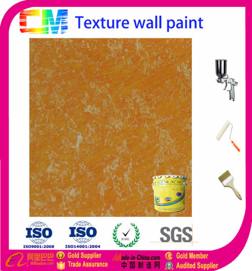 China Water Based Metal Texture Paint Anti Fungas Texture