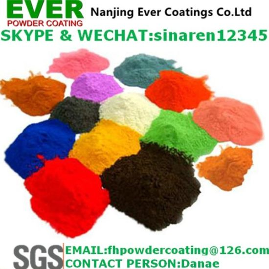 Ral9005 Powder Coating Electrostatic Spray Black Color Smooth Glossy Powder Paint pictures & photos