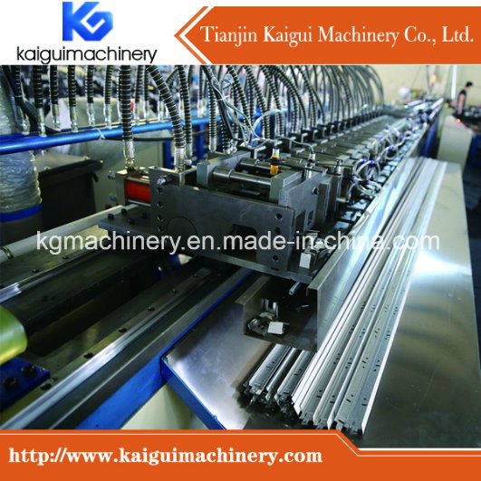 Automatic Flat Ceiling T Bar Roll Forming Machine pictures & photos