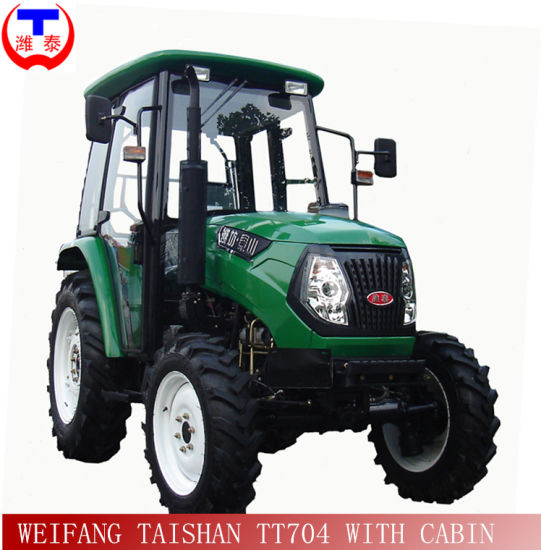 Hot Sales 70HP 4WD Farm Tractor with Low Price (TT704) pictures & photos