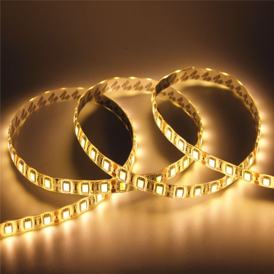 5050 60LEDs IP65 24V Waterproof LED Strip pictures & photos