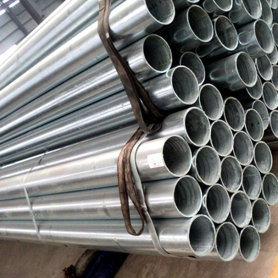ERW Carbon Galvanized Steel Pipe pictures & photos