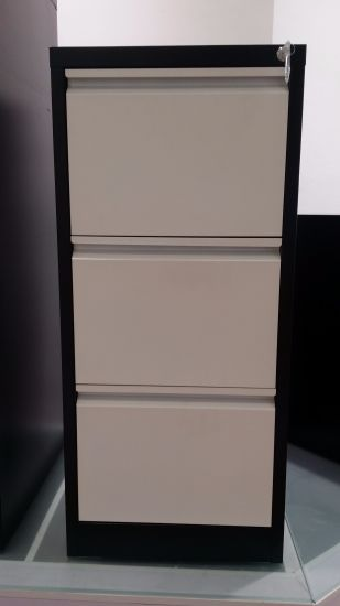 Kd Structure Steel Storage 3 Drawers Filing Cabinet pictures & photos