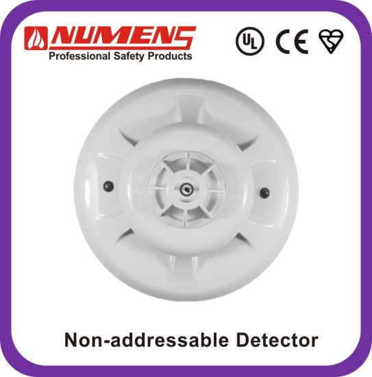 China 2-Wire, Smoke/Heat Detector with Remote LED (SNC-300-CL ...