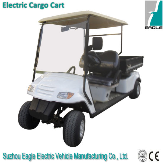 Electric Utility Golf Car, 2 Seats with Manual Lifted Box pictures & photos