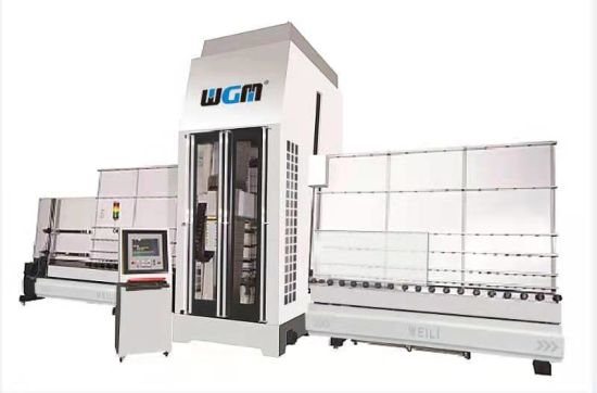 Automatic Glass Drilling and Milling Machine