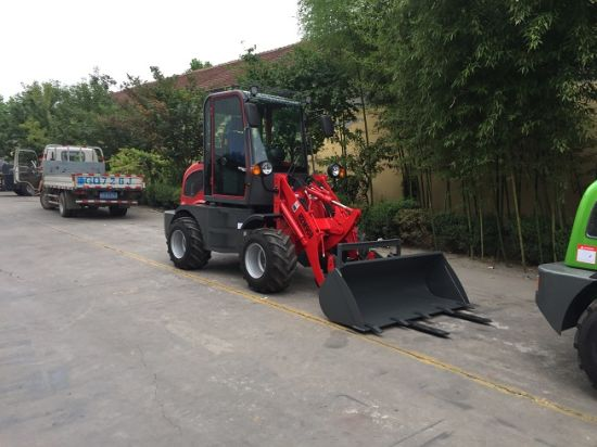 Mini Farming Machine Wood Machine 800kg Loading Mini Loader for Sale pictures & photos
