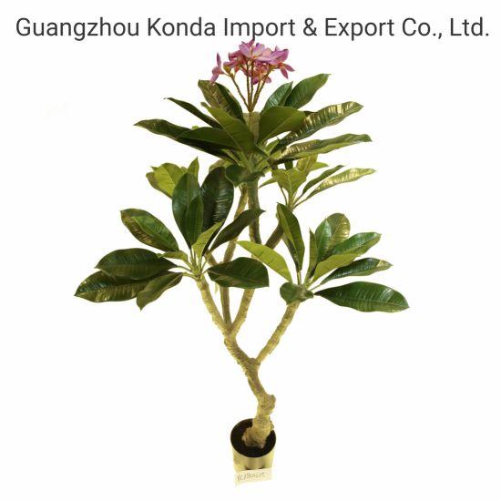 Nearly Natural Home Decor Hawaiian Ear Flower Artificial Frangipani Plant