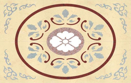 1200*1800mm Pattern Polished Porcelain Tile Pl-Tls121801