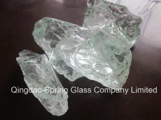 China Decorative Transparent Glass Crystals For Landscaping China