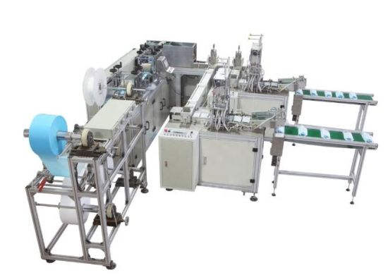 2020 Hot Sale Disposable Non Woven Mask Making Machine Auto Blank Mask Two Ear Loop Welding Face Mask Machine