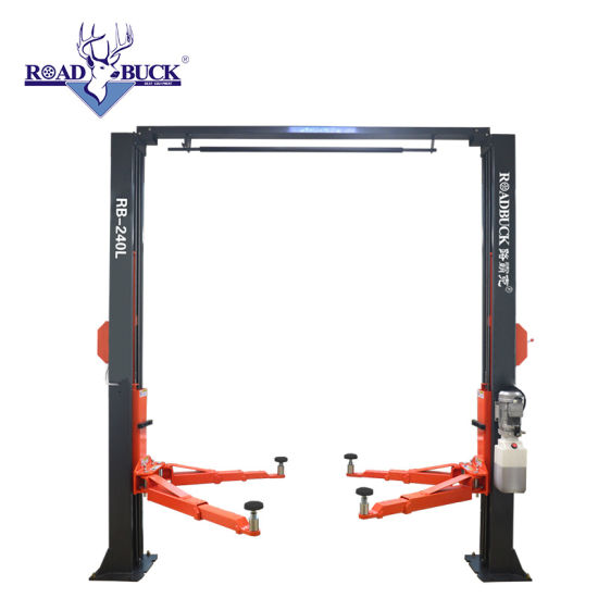 4ton Hydraulic Clear-Floor 2 Post Car Lift with Ce for Sale Garage Shop