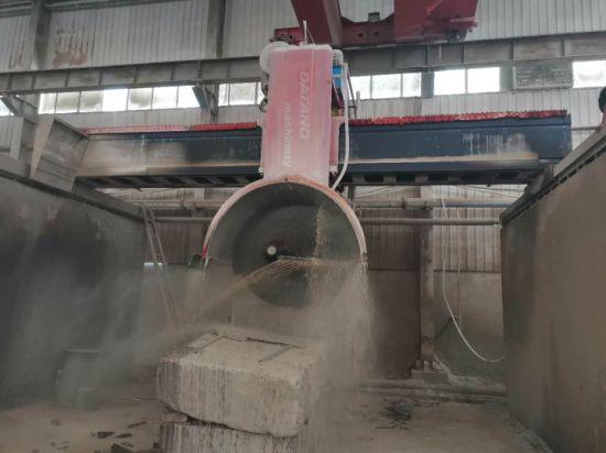 High Efficiency Stone Cutting Machine Granite Bridge Saw