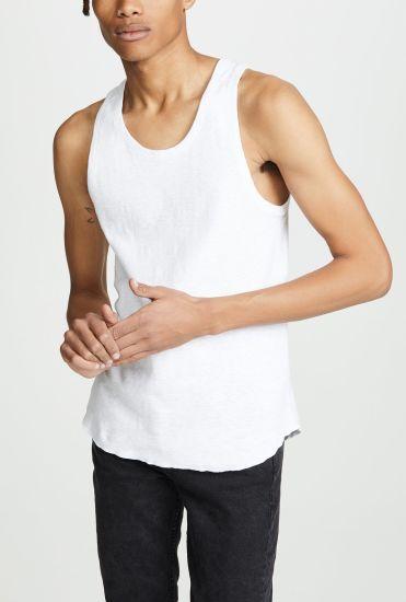 High Quality Wholesale Blank Cheap Plain Athletic Wear Bodybuilding Vest Custom Tanktops Gym Mens Singlet