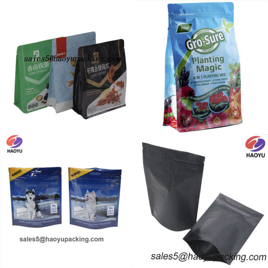 Customized Logo Printing Water Proof Frosted Ziplock Packaging Bag