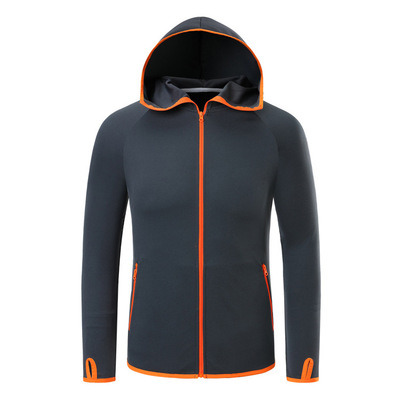 Ice Silk Men Waterproof Hiking Jacket Windproof Outdoor Clothing