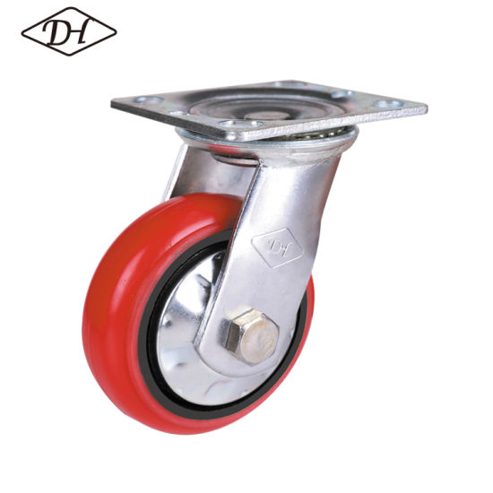 6'' Medium Duty Swivel Caster Without Brake (43 Series)