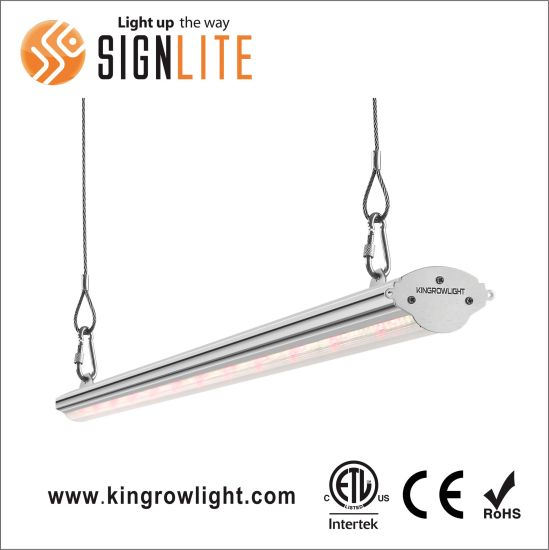 Single Side Liner LED Grow Light 50-300 Watts