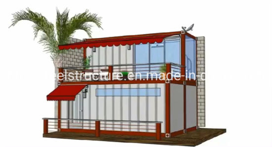Factory Wholesale Luxury Modern Prefabricated Steel Container House