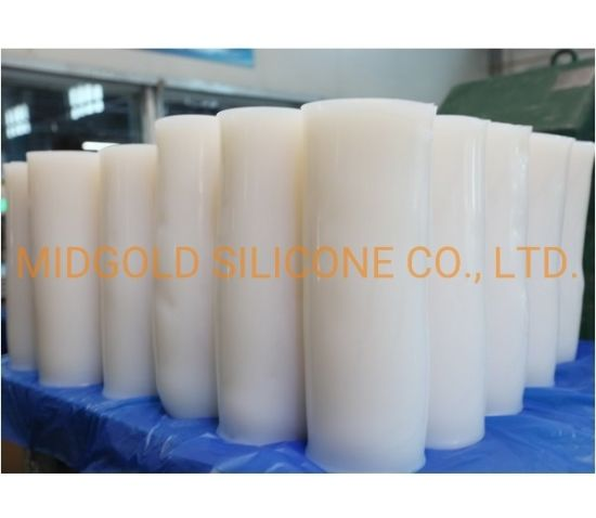 High Tear Strength Fumed Vmq Silicone Rubber for Silicone Tubes