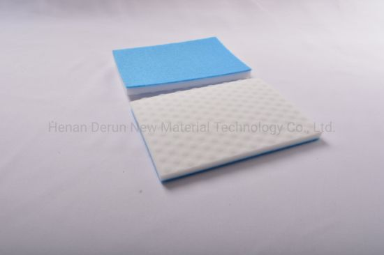 Non-Woven and Magic Sponge Kitchen Cleaning Eraser Sponge Fabric Cloth and Sponge