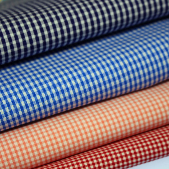 Professional Manufacture Superior Quality Shirt Fabric Black White Shirt and Skirt Fabric