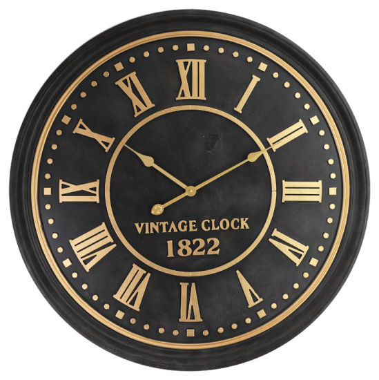 MDF Wall Clock Middle East 3D Sense of Design (EA19394)