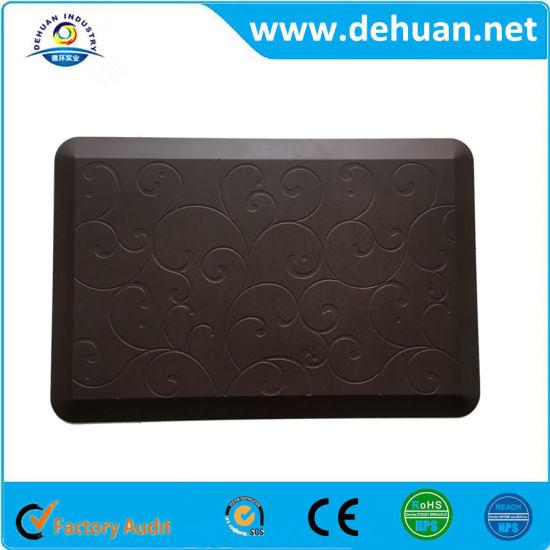 Anti Slip Custom Printed Pad Comfort Anti Fatigue Mat Cheap Kitchen Mats