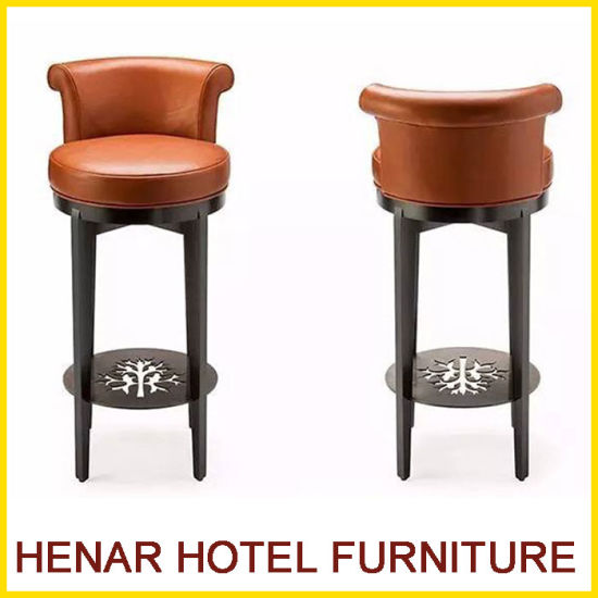 china high back classical bar chairs and bar stools for hotel