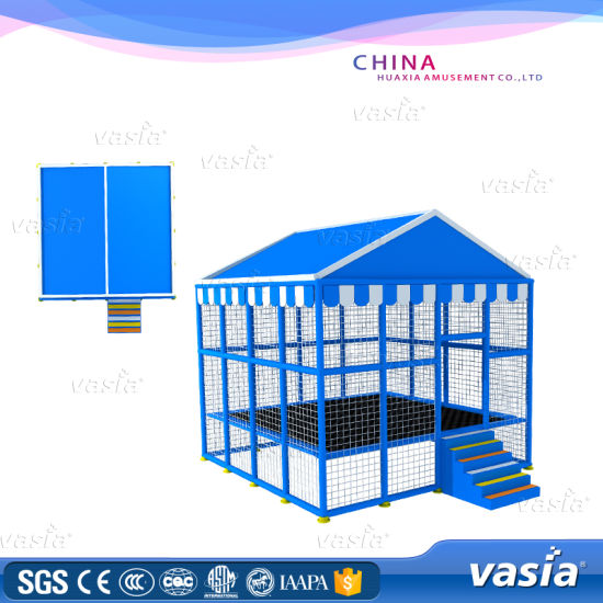 Vasia Cheer Amusement Children Soft Playground Trampoline Park pictures & photos