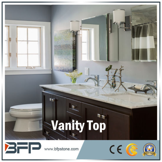 Granite Marble Quartz Stone Vanity Top Countertops for Kitchen Bathroom pictures & photos