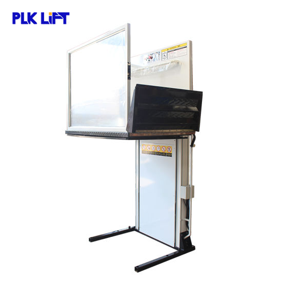 3m Aluminum Wheelchair Lift for Disable People Hydraulic Residential Lift