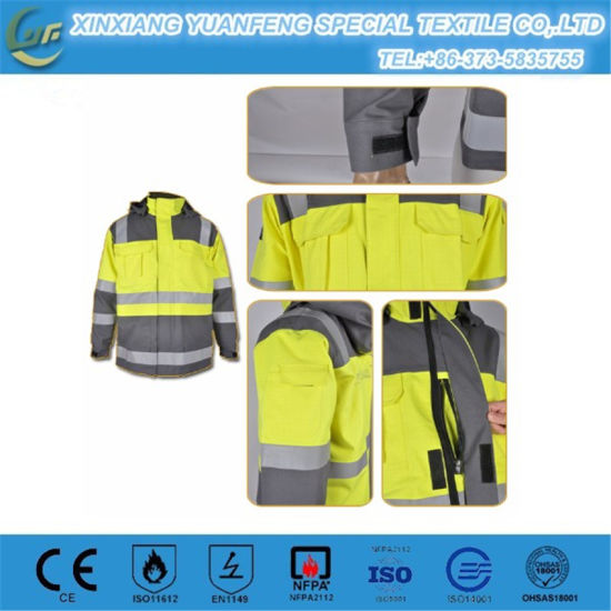 Dustproof Flame Retardant Workwear pictures & photos