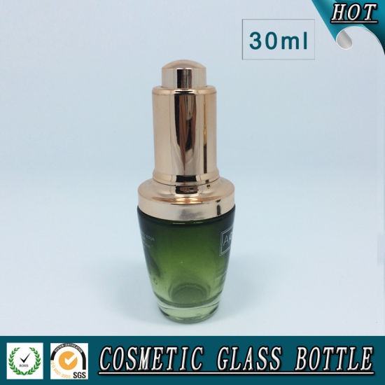 30ml Colorful Cosmetic Glass Lotion Bottle and Glass Dropper Bottle pictures & photos