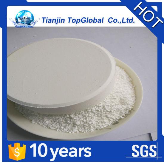 swimming pool active chlorine tablet TCCA 90%
