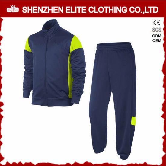 Fashion Trendy New Design Navy Blue Tracksuit for Men (ELTTI-15)