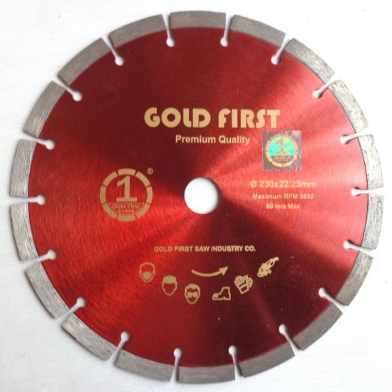 China Professional Supply Diamond Segment Saw Blade for Cutting Stone, Granite, Marble, Concrete