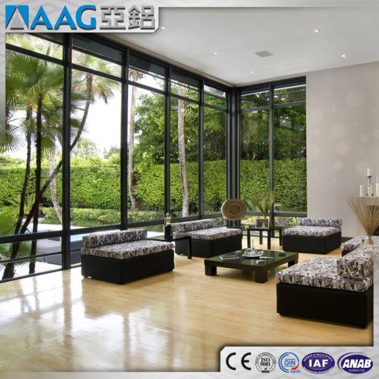 China Prime Line Aluminum/Aluminium Frame Fixed Door and Window ...